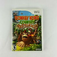 Donkey Kong Country Returns Nintendo Wii Video Game Complete TESTED AND WORKS