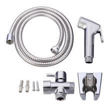 WC Bidet Adapter Bad Waschtisch Duschbrause mit Sprayer + Wasserhahn + Schlauch