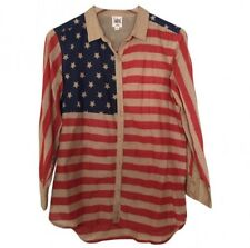 SWILDENS American Flag Stars and Stripes Shirt