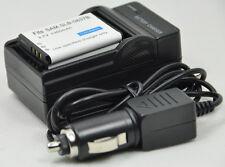 New 2pcs Battery and Charger for SLB-0837B L70 L70B VLUU NV10 L83T NV15 NV20 NV8