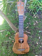 Soprano All Solid Acacia Koa Ukulele from Hawaii Traditional Classic Model