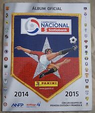 Chile 2014-15 Panini album Campeonato Nacional Petrobras Soccer Cup