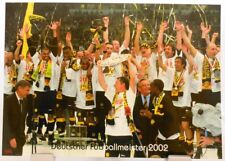 Borussia Dortmund + Deutscher Fußball Meister 2002 + Fan Big Card Edition F99 +