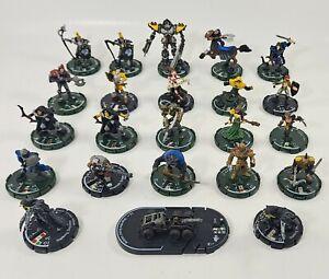 WizKids 2002 Mage Knight Miniature Figures Heroclix D&D Lot 23 See Description