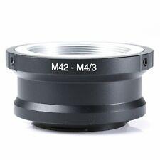 Adapter for M42 lens to an micro 4/3 m4/3 MFT Olympus Panasonic Pen Lumix G
