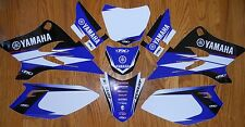 FX YAMAHA RACING TTR 50 GRAPHICS KIT TTR50 ( 06-16 ) w/ WHITE backgrounds