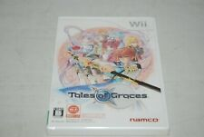 【New】Nintendo Wii Tales of Graces Japan Import Free Shipping Factory Sealed