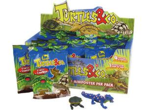 Turtles & Co. 3D DeAgostini AUSSUCHEN aus allen 20 Figuren Schildkröte Krokodil