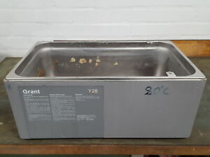 Grant Y-28 Thermostatic Water Bath Tank Stainless Steel Planter Lab