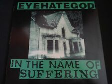 """Eyehategod """"In The Name Of Suffering"""" LP. Limited edition w/Insert. VERY RARE !"""