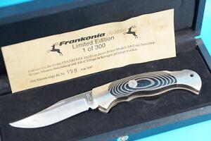 BÖKER 2002 FRANKONIA JAGD Limited Edition 1 of 300 Messer / Taschenmesser (J568