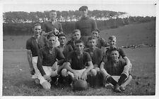 POSTCARD  SPORT    FOOTBALL   PRESTON    1929 - 30     RP