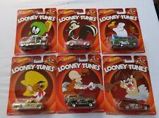 Hot Wheels  - Metal Metal - Real Riders -   Set of 6 Looney Tunes