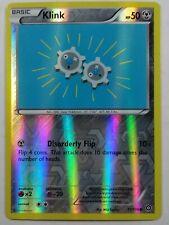 Klink 71/114 X&Y: Steam Siege  Reverse Holo  NM/Mint  Pokemon