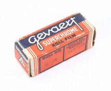 GEVAERT G27 SUPERCHROME FILM, EXPIRED APR 1949, SOLD FOR DISPLAY/lon/195021