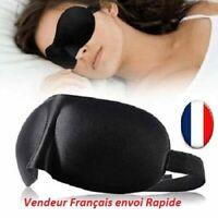 cache yeux de nuit sommeil 3D Doux relaxation voyage