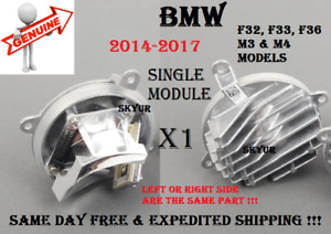 Headlight Cornering Light LED Module For BMW 428 430 435 440 M3 M4 Single Unit