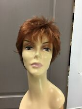 Gabor CONFIDENCE Short Lace Front Pixie Wig, GL30/32 Copper Red