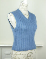 MEXX WOMAN  BLUE KNITTED TANK TOP  SIZE M   UK 10-12