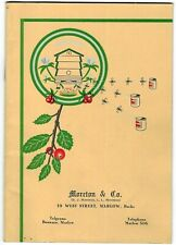 Vintage Moreton & Co Beekeeping Booklet Catalogue Prices Accessories 1951