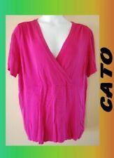 WOMEN'S PLUS SIZE 3X 22W 24W CATO SUMMER KNIT TOP SHIRT CLOTHING