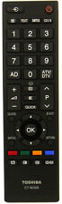 Genuine Toshiba 32AV635D LCD TV Remote Control