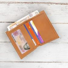 Real Leather Wallet Credit Card Holder RFID Blocking Genuine Leather Gift Boxed