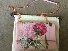 Bnwt Ted Baker PLOOMI Palace Gardens Leather Cross Body Bag Dusky Pink RRP £149