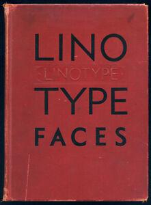 Linotype Faces Type Specimen Book
