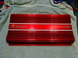 OLD SCHOOL ORION HCCA250R WORKS PERFECTLY 800 WATT HIGH CURRENT AMP WITH PLUGS