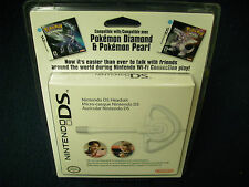 Nintendo DS DSI Headset Brand New Factory Sealed for Pokemon Nintendogs XL Lite