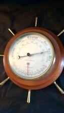 Barómetro de Rueda de barcos