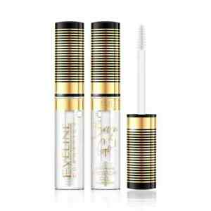 Eveline Brow Go Fixing Eyebrow Gel Clear Brow Shaping Mascara Vegan Formula 10ml