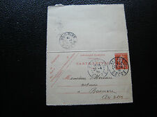 FRANCE - carte-lettre 1908 (date730) (cy57) french
