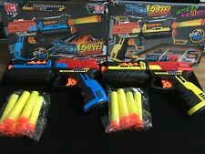 Desert Eagle Toy Gun Vest Bullets Darts NERF N-Strike Blasters Blue Nurf Refills