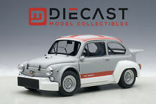 AUTOART 72641 FIAT ABARTH 1000 TCR, MATT GREY/RED STRIPES 1:18TH SCALE