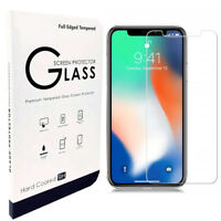 2 Pack Screen Protector Tempered Glass For iPhone 11 Pro XR X XS MAX 6 7 8 Plus