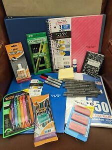 School Supplies Essentials Bundle Middle & High School College