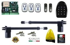Swing gate opener electric automatic KIT FULL compatible GENIUS V2 ERREKA CAME