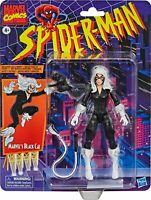 "Hasbro Marvel Legends Spider-Man Vintage Retro BLACK CAT 6"" Action figure"