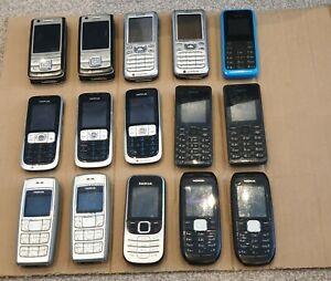 Nokia Mobile Phones x 15 - Vodafone - Working Joblot