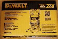 DEWALT DCW600B CORDLESS COMPACT ROUTER 20V