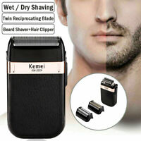 Men Male Electric Beard Shaver Razor Rechargeable Trimmer Strong Hair Clipper US