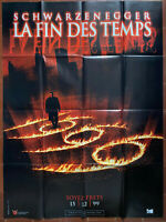 Plakat La Fin Des Temps Peter Hyams Robin Tunney Schwarzenegger 120x160cm