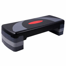 Everfit Aerobic Gym Workout Exercise Fitness 4 Block Bench Step Level Stepper