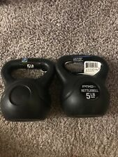 Set of 2 5 lb Kettlebells Pro strength Brand New 10 Total Pounds Fast Free Ship