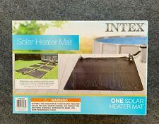 Intex Solar Mat Above Ground Swimming Pool Water Heater - Black   28685E