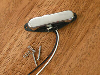 NECK PICKUP CHROME VINTAGE TONE ALNICO 5 MAGNETS FOR TELECASTER