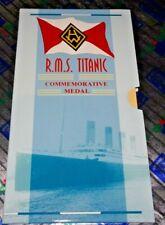 Uk (Great Britain) 1997 R.M.S. Titanic Commemorative Medal Presentation Pack