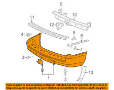 GM OEM Rear Bumper-Cover 20951791